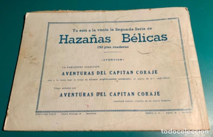 Tebeos: COMIC EL DIABLO DE LOS MARES,ÁLBUM VOLUMEN XIV (14),EDIT TORAY,AÑO 1949,DIBUJANTE FERRANDO,ORIGINAL - Foto 2 - 265558894