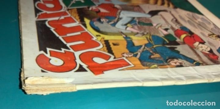 Tebeos: COMIC EL DIABLO DE LOS MARES,ÁLBUM VOLUMEN XIV (14),EDIT TORAY,AÑO 1949,DIBUJANTE FERRANDO,ORIGINAL - Foto 4 - 265558894