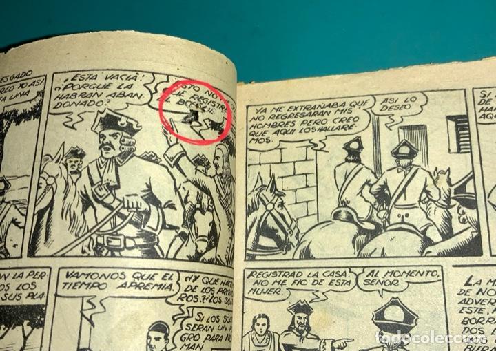 Tebeos: COMIC EL DIABLO DE LOS MARES,ÁLBUM VOLUMEN XIV (14),EDIT TORAY,AÑO 1949,DIBUJANTE FERRANDO,ORIGINAL - Foto 10 - 265558894
