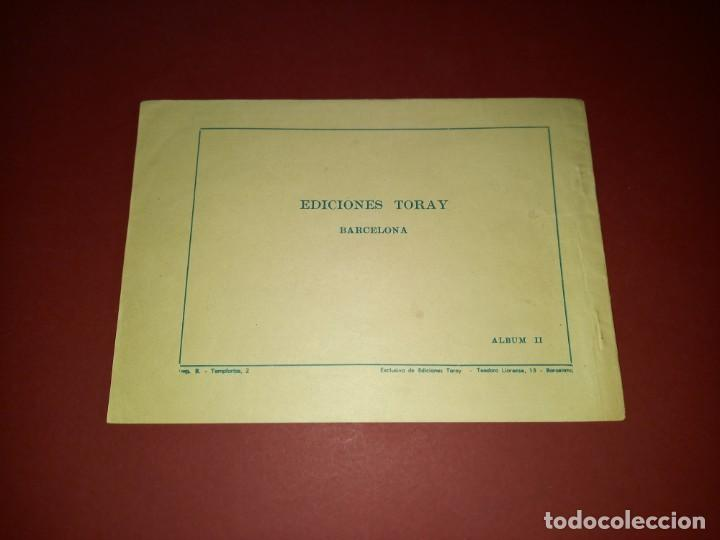 Tebeos: EL HIJO DE DIABLO DE LOS MARES ALBUM Nº 2 -ORIGINAL-TORAY - Foto 2 - 265784844