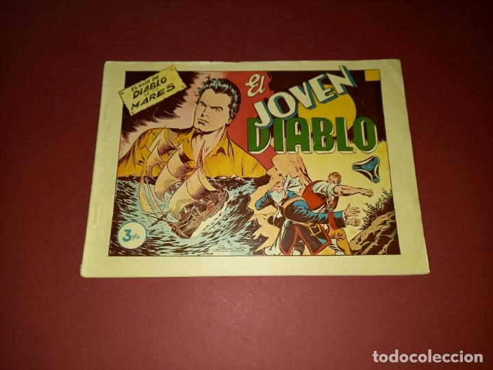 EL HIJO DE DIABLO DE LOS MARES ALBUM Nº 3 -ORIGINAL-TORAY (Tebeos y Comics - Toray - Diablo de los Mares)