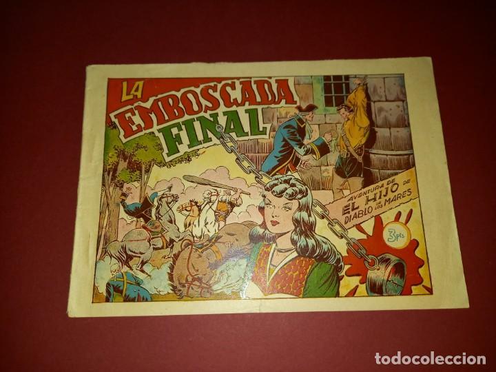EL HIJO DE DIABLO DE LOS MARES ALBUM Nº 4 -ORIGINAL-TORAY (Tebeos y Comics - Toray - Diablo de los Mares)