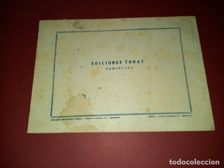 Tebeos: EL HIJO DE DIABLO DE LOS MARES ALBUM Nº 5 -ORIGINAL-TORAY - Foto 2 - 265786674