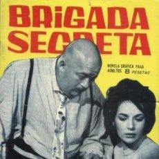 Tebeos: BRIGADA SECRETA -Nº 92 -EL DIENTE DE ORO-PERSONAL JOSÉ JULVE-1965-CASI BUENO-DIFÍCIL-LEA-4931. Lote 266063333