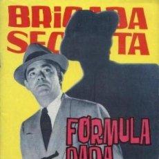 Tebeos: BRIGADA SECRETA- Nº 81 -FÓRMULA PARA MATAR-GRAN JORGE BADÍA-1965-BUENO-DIFÍCIL-LEA-4939. Lote 266088773