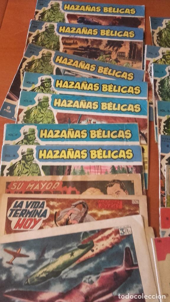 HAZAÑAS BÉLICAS LOTE 19 NUMEROS VARIADOS (Tebeos y Comics - Toray - Hazañas Bélicas)