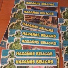 BDs: HAZAÑAS BÉLICAS LOTE 19 NUMEROS VARIADOS. Lote 266551203