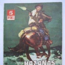 Tebeos: HAZAÑAS DEL OESTE - Nº 59 - EDICIONES TORAY - AÑOS 60.. Lote 266873979