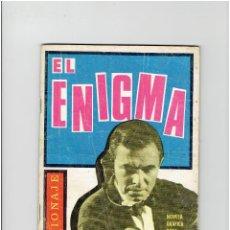 Tebeos: ARCHIVO * ESPIONAJE Nº 18 * EDICIONES TORAY 1965 * EL ENIGMA *. Lote 267074999