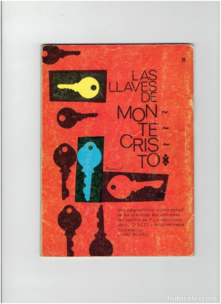 Tebeos: Archivo * ESPIONAJE Nº 18 * EDICIONES TORAY 1965 * EL ENIGMA * - Foto 3 - 267074999