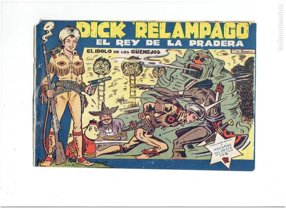 Tebeos: Archivo * DICK RELAMPAGO Nº 2, 4, 7, 16, 27, * EDICIONES TORAY 1961 * ORIGINALES * - Foto 12 - 213738451