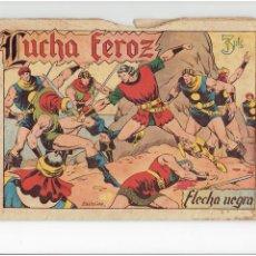 Tebeos: ARCHIVO * FLECHA NEGRA * ALBUM Nº 6 * TORAY 1950 * DIBUJOS DE BOIXCAR *. Lote 267121109