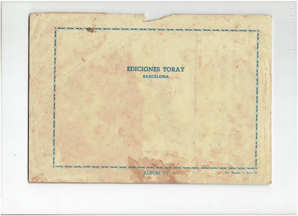 Tebeos: Archivo * FLECHA NEGRA * ALBUM Nº 6 * TORAY 1950 * DIBUJOS DE BOIXCAR * - Foto 5 - 267121109