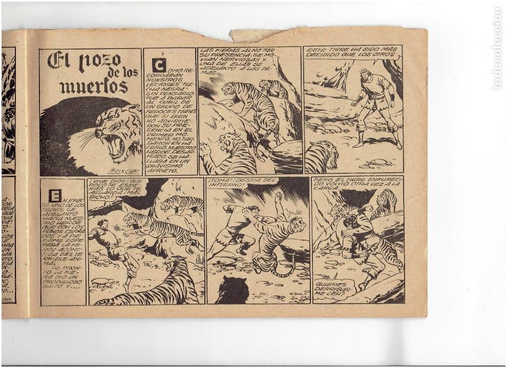 Tebeos: Archivo * FLECHA NEGRA * ALBUM Nº 6 * TORAY 1950 * DIBUJOS DE BOIXCAR * - Foto 3 - 267121109