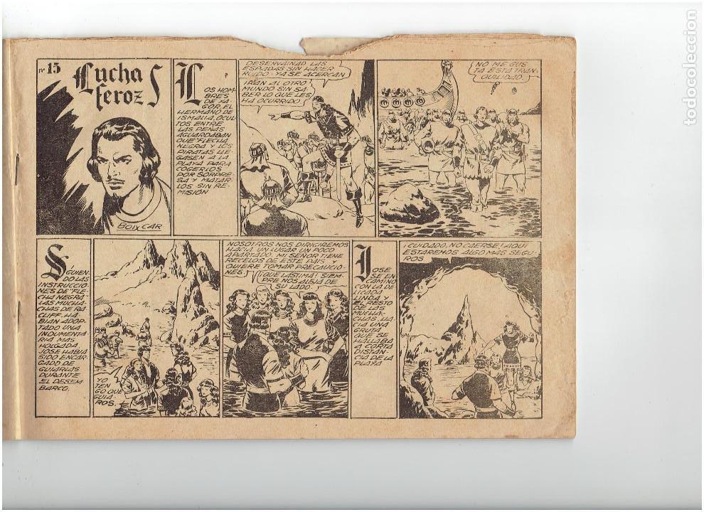 Tebeos: Archivo * FLECHA NEGRA * ALBUM Nº 6 * TORAY 1950 * DIBUJOS DE BOIXCAR * - Foto 2 - 267121109