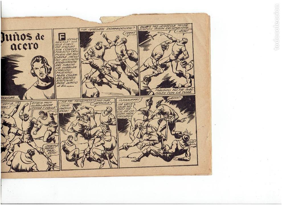 Tebeos: Archivo * FLECHA NEGRA * ALBUM Nº 6 * TORAY 1950 * DIBUJOS DE BOIXCAR * - Foto 4 - 267121109