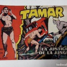 BDs: TEBEO TAMAR Nº 46 LA JUSTICIA DE LA JUNGLA. Lote 267294574