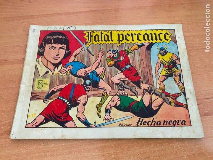 FLECHA NEGRA ALBUM Nº 5 V FATAL PERCANCE (ORIGINAL TORAY) (COIB61) (Tebeos y Comics - Toray - Flecha Negra)