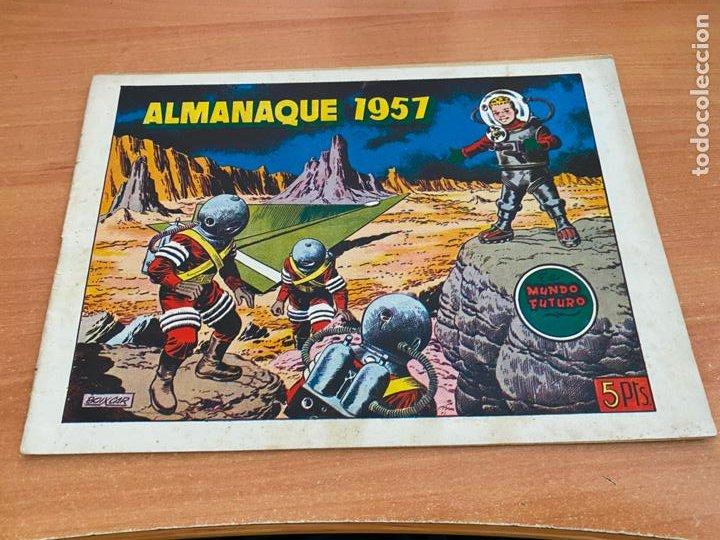 MUNDO FUTURO ALMANAQUE PARA 1957 (ORIGINAL TORAY) (COIB61) (Tebeos y Comics - Toray - Mundo Futuro)