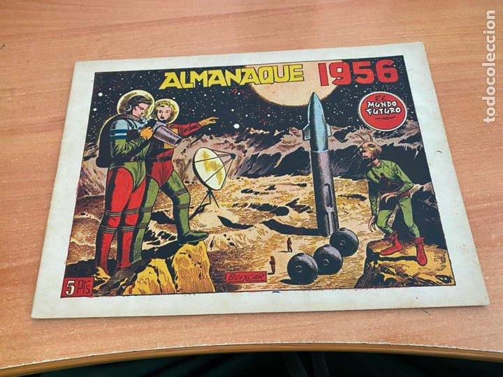 MUNDO FUTURO ALMANAQUE PARA 1956 (ORIGINAL TORAY) (COIB61) (Tebeos y Comics - Toray - Mundo Futuro)