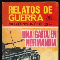 Tebeos: RELATOS DE GUERRA - TORAY / NÚMERO 191. Lote 268852219