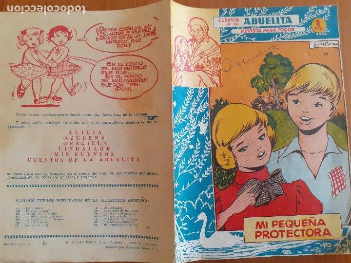 Tebeos: Cuentos de la Abuelita Nº 204. Mi pequeña protectora. Toray. Normal estado - Foto 2 - 268872454