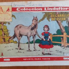Tebeos: COLECCIÓN LINDAFLOR Nº 142. EL CABALLO DE ESTER. TORAY. NORMAL ESTADO. Lote 268879619