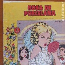 Tebeos: COLECCIÓN LINDAFLOR Nº 194. ROSA DE PORCELANA. TORAY. NORMAL ESTADO. Lote 268879774