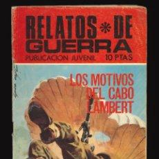 Tebeos: RELATOS DE GUERRA - TORAY / NÚMERO 204. Lote 268885209