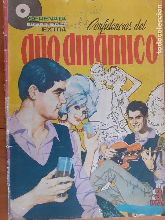 SERENATA EXTRA DUO DINÁMICO Nº 2. FOTO CENTRAL JOHNNY HOLLIDAY. EDITA TORAY. NORMAL ESTADO (Tebeos y Comics - Toray - Otros)