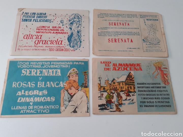 Tebeos: LOTE DE 13 COMICS AZUCENA. REVISTA JUVENIL FEMENINA. EDICIONES TORAY. AÑOS 60.VER FOTOS. - Foto 3 - 269116328