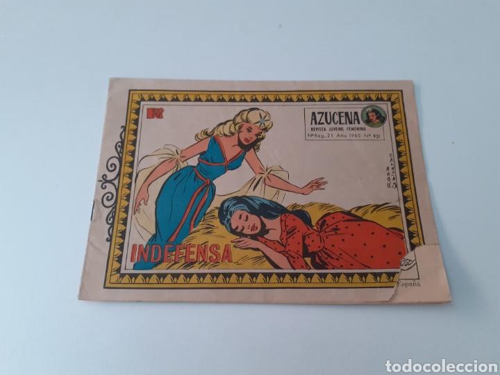 Tebeos: LOTE DE 13 COMICS AZUCENA. REVISTA JUVENIL FEMENINA. EDICIONES TORAY. AÑOS 60.VER FOTOS. - Foto 8 - 269116328