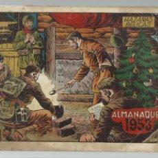 Tebeos: HAZAÑAS BÉLICAS ALMANAQUE 1953, ORIGINAL, TORAY, USADO. Lote 269382523