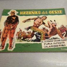 Tebeos: HAZAÑAS DEL OESTE Nº 9 / TORAY ORIGINAL. Lote 269450073