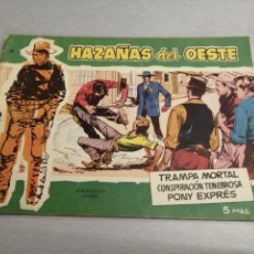 Tebeos: HAZAÑAS DEL OESTE Nº 10 VERDE / TORAY ORIGINAL. Lote 269450458