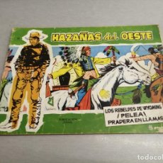 Tebeos: HAZAÑAS DEL OESTE Nº 13 VERDE / TORAY ORIGINAL. Lote 269450668