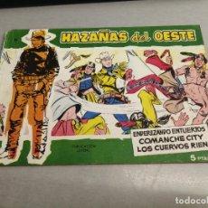 Tebeos: HAZAÑAS DEL OESTE Nº 16 VERDE / TORAY ORIGINAL. Lote 269450788