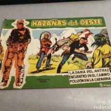 Tebeos: HAZAÑAS DEL OESTE Nº 21 VERDE / TORAY ORIGINAL. Lote 269451053