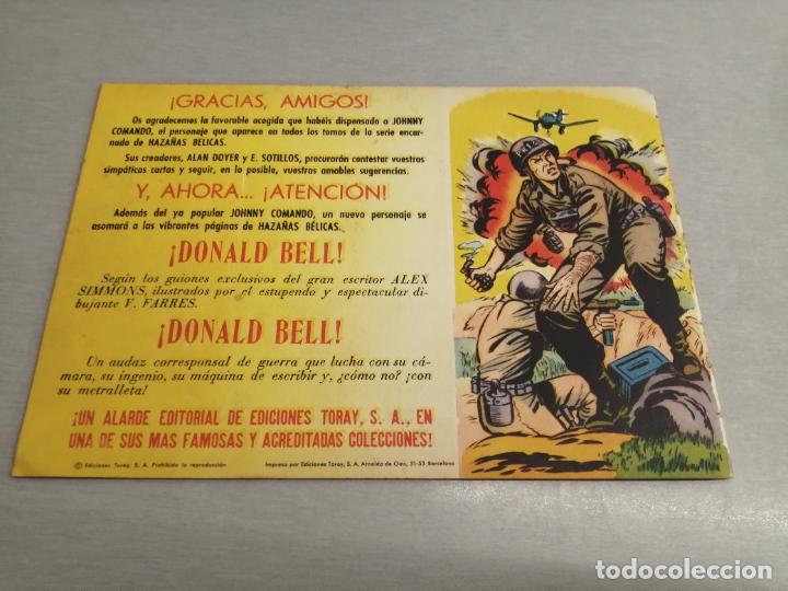 Tebeos: HAZAÑAS DEL OESTE Nº 22 VERDE / TORAY ORIGINAL - Foto 2 - 269451118