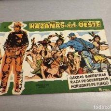 Tebeos: HAZAÑAS DEL OESTE Nº 22 VERDE / TORAY ORIGINAL. Lote 269451118