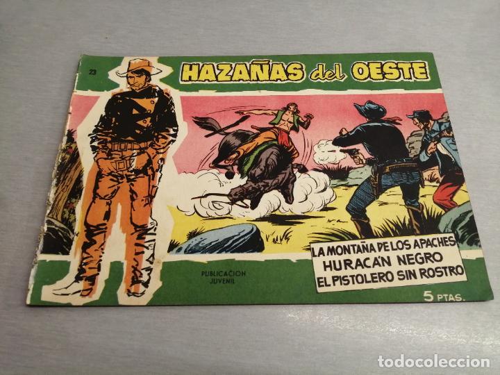 HAZAÑAS DEL OESTE Nº 23 VERDE / TORAY ORIGINAL (Tebeos y Comics - Toray - Hazañas del Oeste)