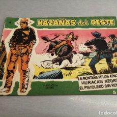 Tebeos: HAZAÑAS DEL OESTE Nº 23 VERDE / TORAY ORIGINAL. Lote 269451203