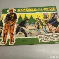 Tebeos: HAZAÑAS DEL OESTE Nº 25 VERDE / TORAY ORIGINAL. Lote 269451268