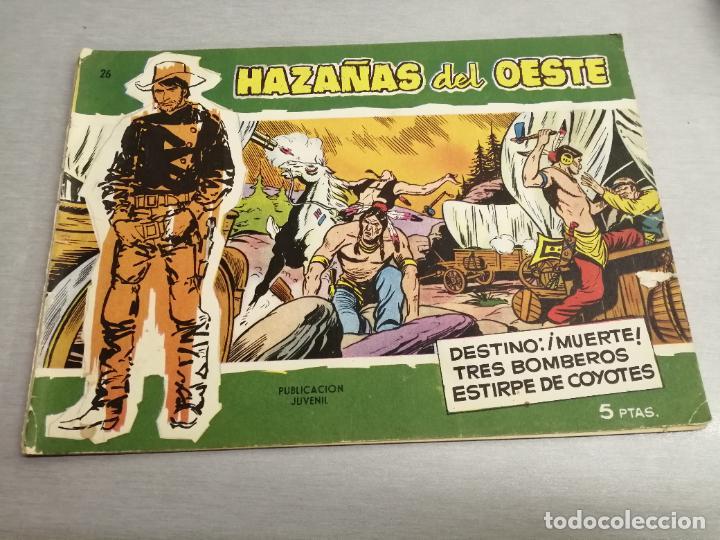 HAZAÑAS DEL OESTE Nº 26 VERDE / TORAY ORIGINAL (Tebeos y Comics - Toray - Hazañas del Oeste)