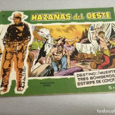 Tebeos: HAZAÑAS DEL OESTE Nº 26 VERDE / TORAY ORIGINAL. Lote 269451518