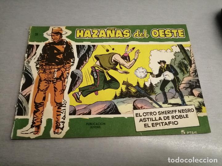 HAZAÑAS DEL OESTE Nº 28 VERDE / TORAY ORIGINAL (Tebeos y Comics - Toray - Hazañas del Oeste)