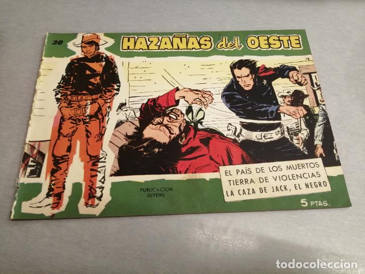 HAZAÑAS DEL OESTE Nº 30 VERDE / TORAY ORIGINAL (Tebeos y Comics - Toray - Hazañas del Oeste)