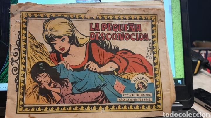 Tebeos: LOTE CUATRO REVISTAS FEMENINAS AZUCENA 1152 870 1215 1177 - Foto 3 - 269801138