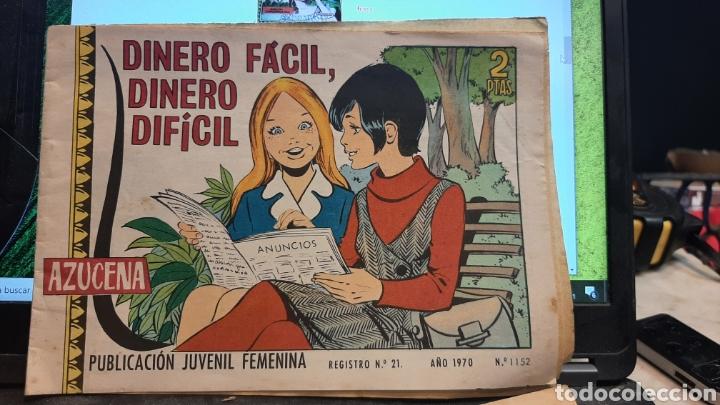 Tebeos: LOTE CUATRO REVISTAS FEMENINAS AZUCENA 1152 870 1215 1177 - Foto 4 - 269801138