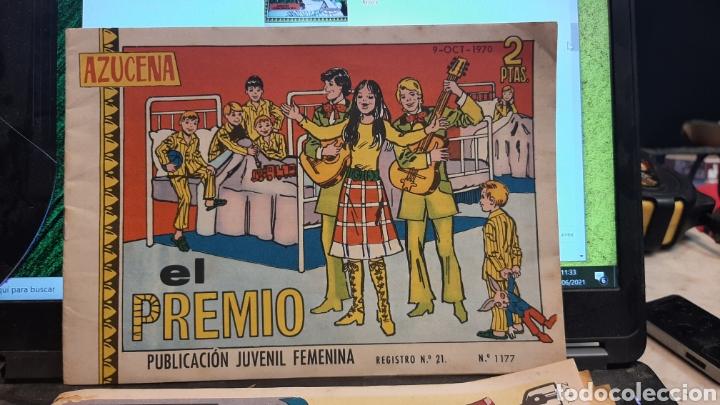 Tebeos: LOTE CUATRO REVISTAS FEMENINAS AZUCENA 1152 870 1215 1177 - Foto 5 - 269801138